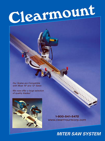 Clearmount Miter Saw Measuring Scales Amp Systems
